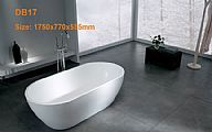 Solid Surface Bathtub