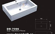 Rectangular Ceramic Sink