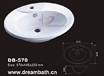 Drop In Bathroom Sink