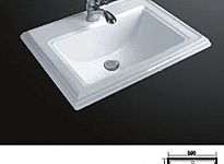 Porcelain Drop In Basin