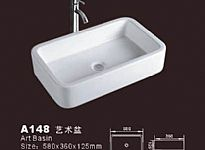 White Vessel Sink